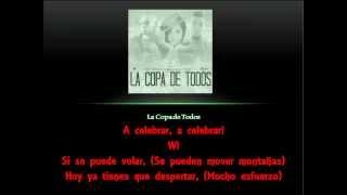 La Copa De Todos ((LETRA Ingles a Español)) - Wisin Ft Paty Cantú & David Correy