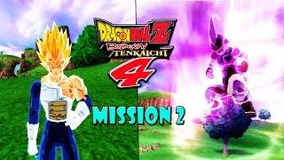 Mission 2 - Vegeta VS Kid Buu Atrocious - DBZ Budokai Tenkaichi 4 (Beta2)
