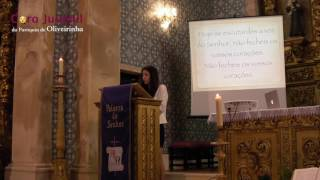 Salmo 94 (95) - Hoje se escutardes a voz do Senhor | Coro Juvenil de Oliveirinha