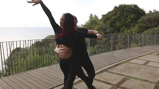 Isabelle and Félicien - kizomba in Tahiti