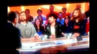 ED BANGER CREW on French TV(Canal+)( Busy P, Breakbot and Justice)Happy 10th Birthday!!!