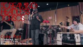 Screaming Headless Torsos - Code Red (live in studio tracking session) HD 1080