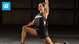 Day 28 | 20 Minute at Home Flexibility Workout | Clutch Life: Ashley Conrad's 24/7 Fitness Trainer width=