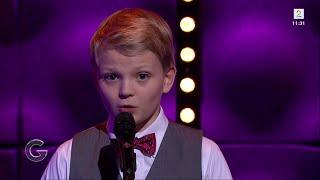 Mitt hjerte alltid vanker | boy soprano Aksel Rykkvin (12y) & Sean Lewis | God Morgen Norge TV2