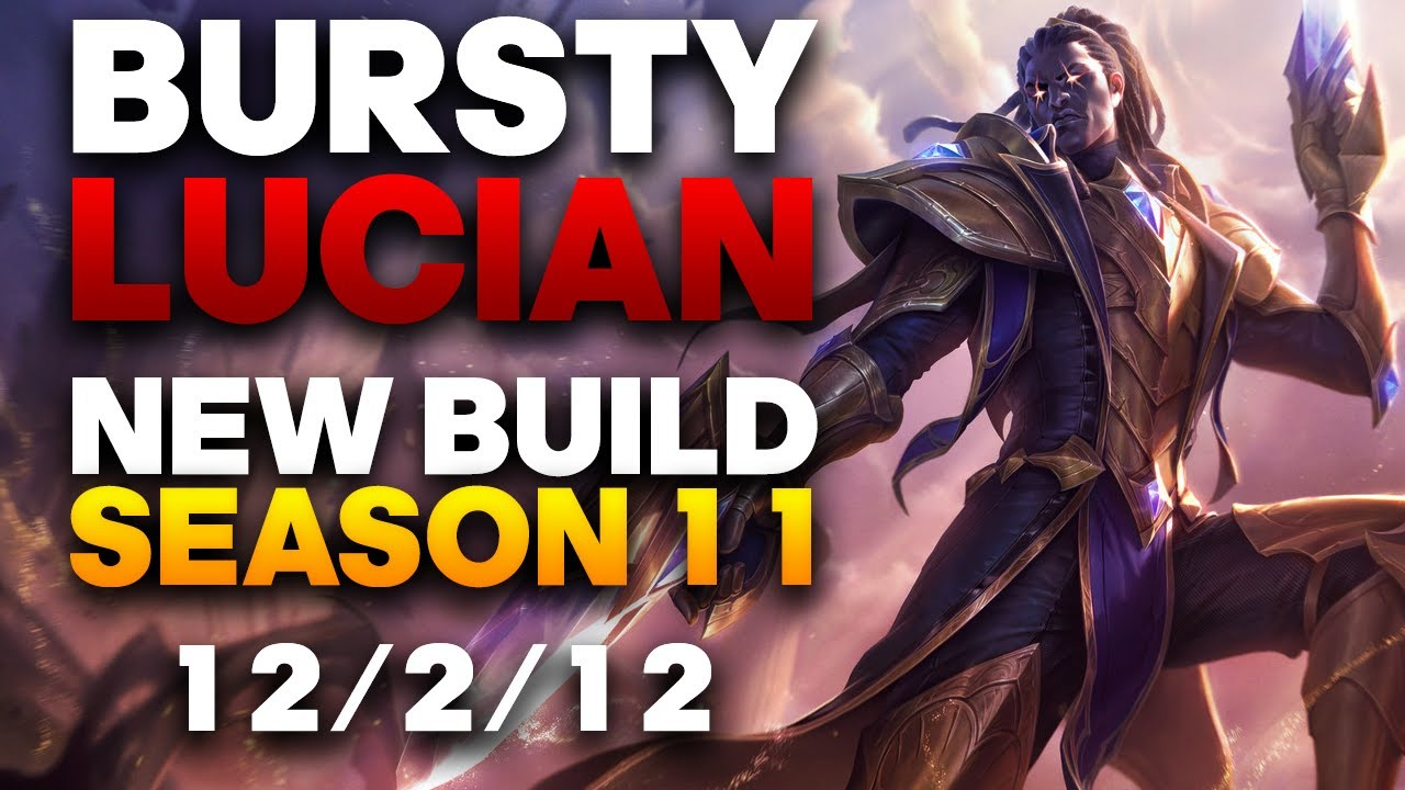 VaporaDark - Vapora Dark Lucian ADC Gameplay - Season 11 Bursty One-Shot Lucian Build | League of Legends