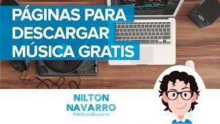 10 páginas para descargar música gratis para tus videos   Sonidos gratis   Nilton Navarro
