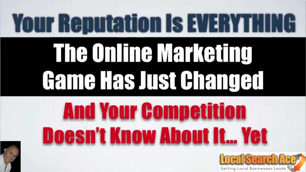 Reputation Marketing|Local Search Ace|Reputation Management