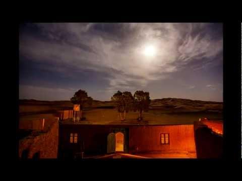 Full Moon over Auberge LaBaraka, Morocco, TimeLapse