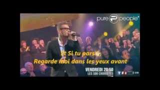 M.Pokora Si tu pars Paroles
