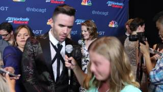 Brian Justin Crum Interview at America's Got Talent Season 11 Finale