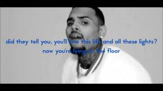 Chris Brown - Welcome To My Life  ft. Cal Scruby LYRICS