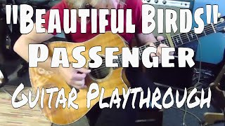 """Beautiful Birds"" - Passenger - Guitar Playthrough"