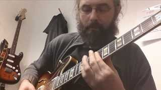 I Fall in Love Too Easily - Chord Melody and Improvisation - Ibanez AS2630 - SD Seth Lover