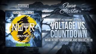 Voltage vs. Countdown (W&W Intro Tomorrowland Brasil 2016)
