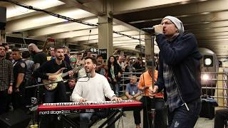 "Linkin Park LIVE in Grand Central Station: ""What I've Done"""