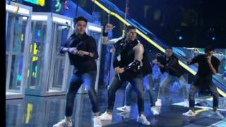 CNCO bailando Hey Dj (Video Oficial)
