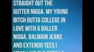 Zonnique - Nun For Free ( Feat - Young Thug ) ( Lyrics)