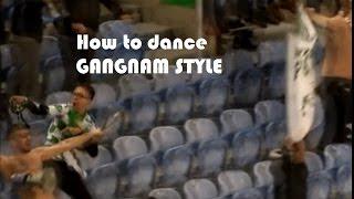Adepto do Moreirense festeja dançando GANGNAM STYLE