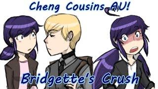 [Miraculous Ladybug Comic Dub] Cheng Cousins AU! | Bridgette's Crush