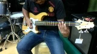 PAUL BASCO of lem'sGuitar Bass testing