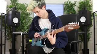 Tim Henson (Polyphia) Guitar Tapping Riff from Icronic - The Most Hated EP