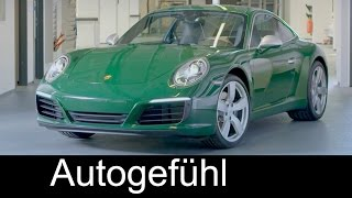 Porsche 911 No. 1 Million special production assembly 1000000th - Autogefühl