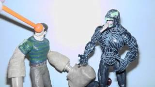 Stop Motion - Spider-Man & New Goblin vs Venom & Sandman