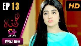 Gunnah - Episode 13 | Aplus Dramas | Sara Elahi, Shamoon Abbasi, Asad Malik | Pakistani Drama