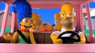 Simpsonovi Akční Gaučová Scéna
