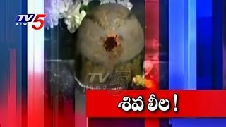 Miracle In Lord Shiva Temple | Milk Emerges Around The Shiva Lingam | TV5 News