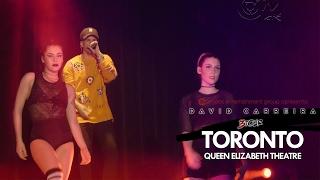 Dama do Business - David Carreira em Toronto - 3 TOUR - 2017