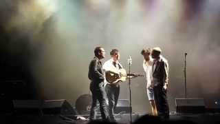 Mumford and Sons -  Reminder (live and acoustic at Olympic Park 07/06/2013)