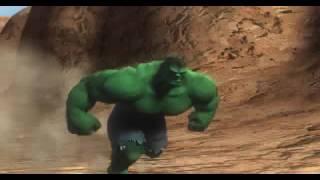 The Incredible Hulk Ultimate Destruction Intro Cutscene