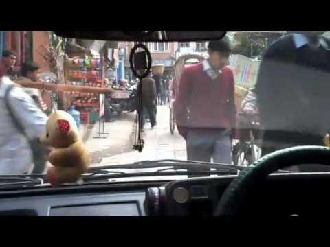 Crazy streets of Kathmandu!