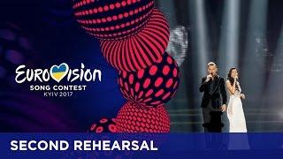 Koit Toome & Laura - Verona (Estonia) EXCLUSIVE Rehearsal footage