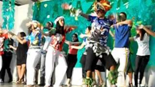 Vermelho = Dança do Boi - Manaus