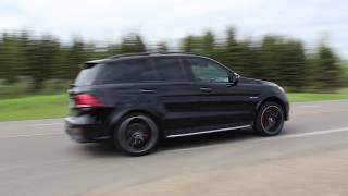 2018 Mercedes Benz GLE 63 S AMG Exhaust Start Up, Revs, Driving Sounds
