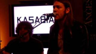 Kasabian Underdog @ Sony Store Paris 3th June 2009