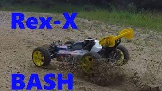 Reely Rex-x 2wd 1/8 RtR Nitro Buggy Bash Clip 2015 Full HD