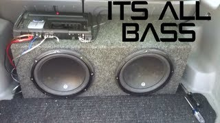 """My Car Stereo - 2 12"""" JL W3v3 Subwoofers """"Feel The Bass"""""""