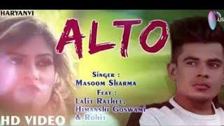 Alto Remix ! Masoom Sharma!  Remix by Sumit Badesariya