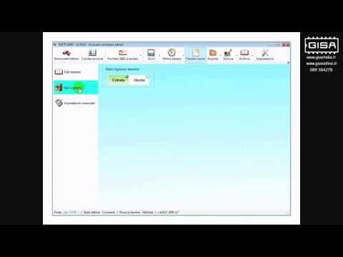 SOFTCARD - Leggere i dati della tessera ovale inserita