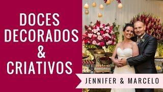 Festa rosa: Jennifer & Marcelo