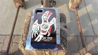 iTlingit Raven Design for iPhone 4/4S