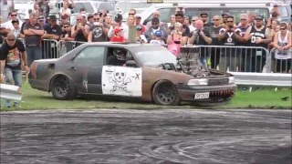 Rangiora Muscle Car Madness Burnouts 2016