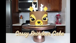 How To Make A Sassy Reindeer Cake | CHELSWEETS