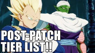Post-Patch Tier List and Discussion! Dragon Ball FighterZ width=