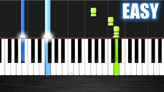 Selena Gomez - The Heart Wants What It Wants - EASY Piano Tutorial by PlutaX - Synthesia