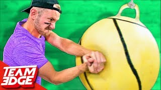 GIANT Tetherball Challenge!!