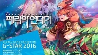 G-STAR 2016 - Conheça Peria Chronicles um MMORPG Anime